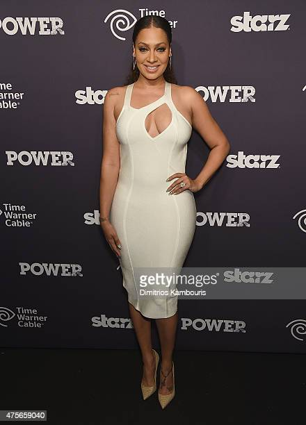 LaLa Anthony attends 'Power' Season Two Series Premiere at Best Buy Theater on June 2 2015 in New York City