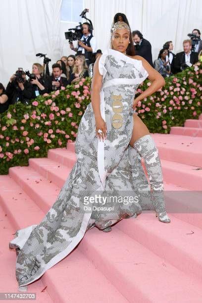 Lala Anthony attends The 2019 Met Gala Celebrating Camp Notes on Fashion at Metropolitan Museum of Art on May 06 2019 in New York City