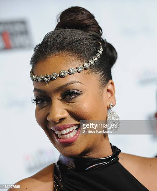 Lala Anthony attends the 8th annual Keep A Child Alive Black Ball at the Hammerstein Ballroom on November 3 2011 in New York City