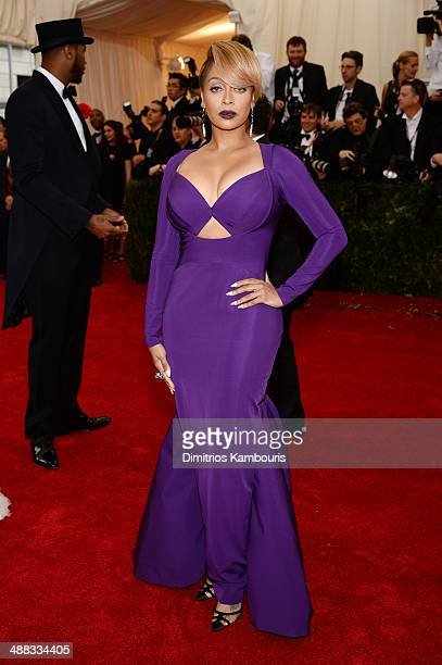 LaLa Anthony attends the 'Charles James Beyond Fashion' Costume Institute Gala at the Metropolitan Museum of Art on May 5 2014 in New York City