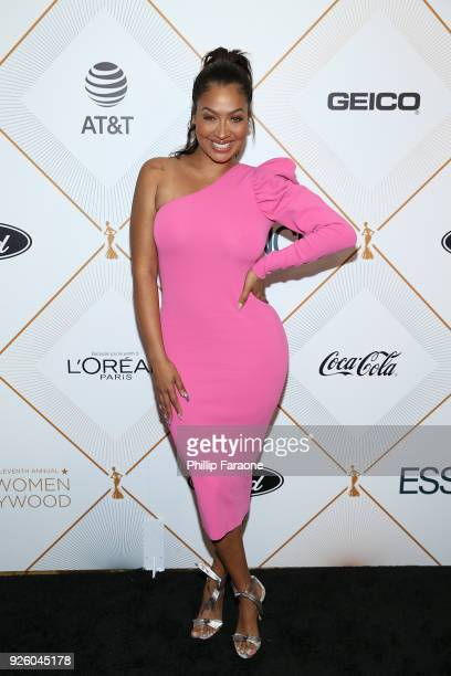 LaLa Anthony attends the Essence 11th Annual Black Women In Hollywood Awards Gala at the Beverly Wilshire Four Seasons Hotel on March 1 2018 in...