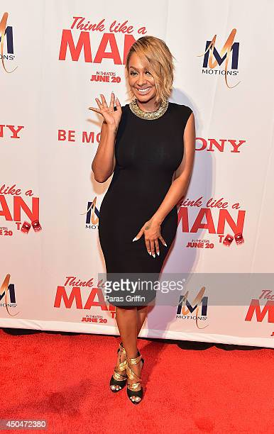 "LaLa Anthony attends the ""Think Like A Man Too"" Atlanta Premiere at Regal Cinemas Atlantic Station Stadium 16 on June 11, 2014 in Atlanta, Georgia."