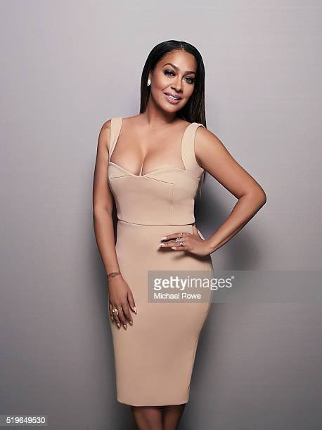 LaLa Anthony is photographed at the 2016 Black Women in Hollywood Luncheon for Essencecom on February 25 2016 in Los Angeles California