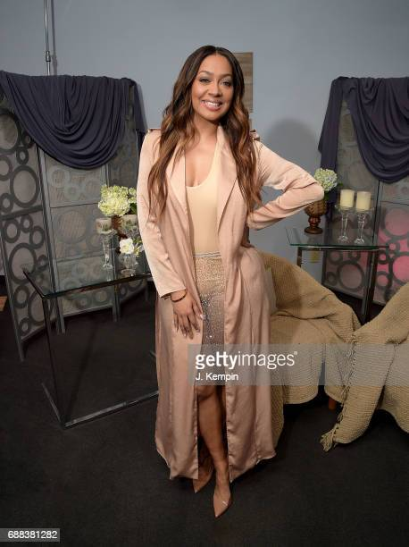 Lala Anthony visits 'Extra' at Extra Studios on May 25 2017 in New York City