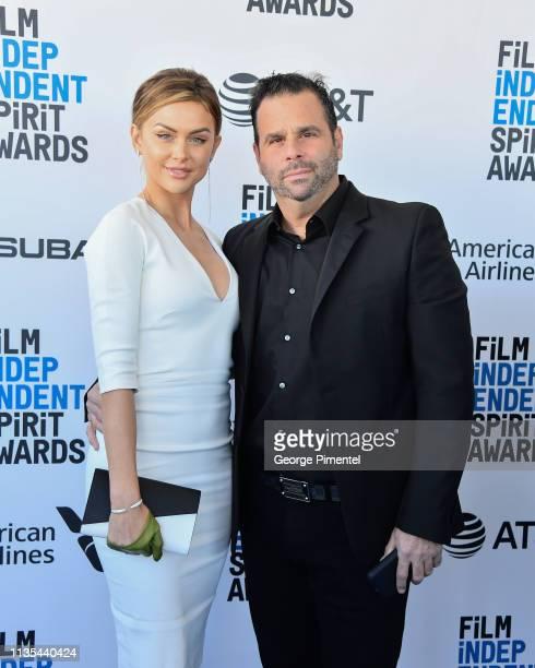 Lala Kent and Randall Emmett attend the 2019 Film Independent Spirit Awards on February 23 2019 in Santa Monica California