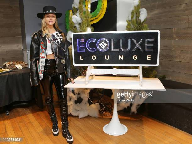 Lala Kent attends Debbie Durkin's Ecoluxe Lounge Park City at Tekila Mexican Grill Cantina on January 26 2019 in Park City Utah