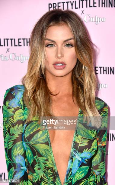 Lala Kent attends PrettyLittleThing X Olivia Culpo Launch at Liaison Lounge on August 17 2017 in Los Angeles California