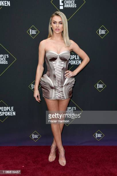 Lala Kent attends the 2019 E People's Choice Awards at Barker Hangar on November 10 2019 in Santa Monica California