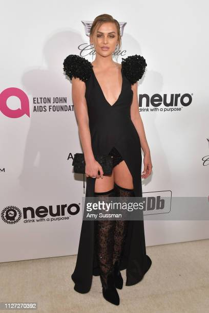 Lala Kent attends the 27th annual Elton John AIDS Foundation Academy Awards Viewing Party celebrating EJAF and the 91st Academy Awards on February 24...