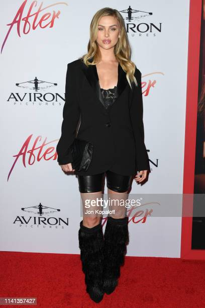 Lala Kent attends the Los Angeles premiere of Aviron Pictures' After at The Grove on April 08 2019 in Los Angeles California