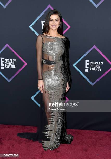 Lala Kent attends the People's Choice Awards 2018 at Barker Hangar on November 11 2018 in Santa Monica California