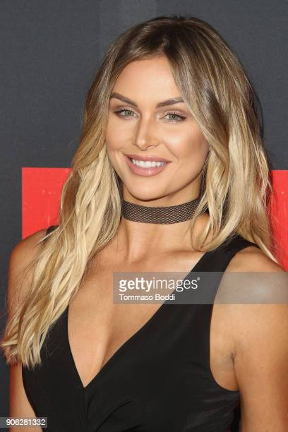 Lala Kent attends the Premiere Of STX Films' 'Den Of Thieves' at Regal LA Live Stadium 14 on January 17 2018 in Los Angeles California