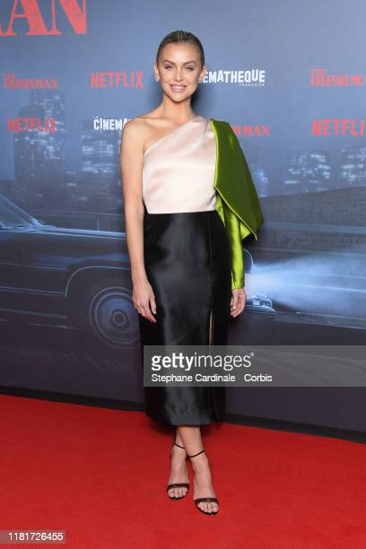 Lala Kent attends the The Irishman premiere at la Cinematheque on October 17 2019 in Paris France