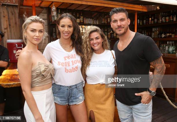 Lala Kent James Mae CoFounder Kristen Doute Brittany Cartwright and Jax Taylor attend The Garage Sale featuring James Mae and Friend presented by...