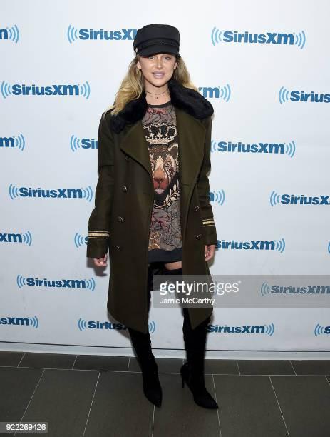 Lala Kent visits SiriusXM at SiriusXM Studios on February 21 2018 in New York City