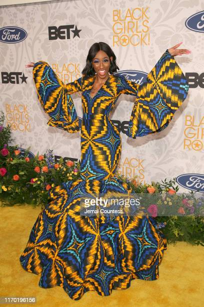 Lala Milan attends Black Girls Rock 2019 Hosted By Niecy Nash at NJPAC on August 25, 2019 in Newark, New Jersey.on August 25, 2019 in Newark, New...