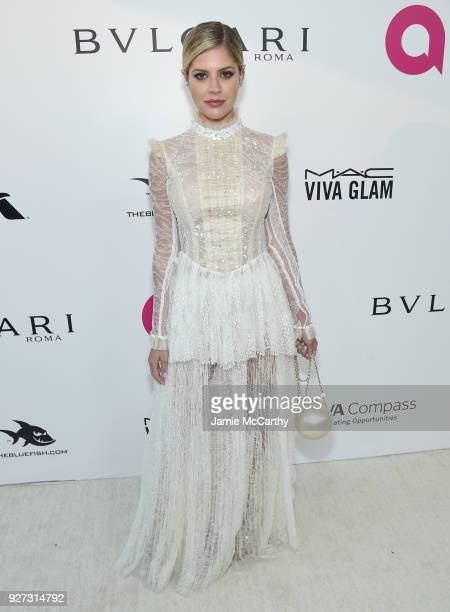 Lala Rudge attends the 26th annual Elton John AIDS Foundation Academy Awards Viewing Party sponsored by Bulgari celebrating EJAF and the 90th Academy...