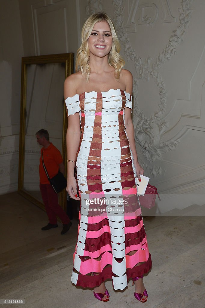 Jean-Paul Gaultier : Front Row - Paris Fashion Week - Haute Couture Fall/Winter 2016-2017