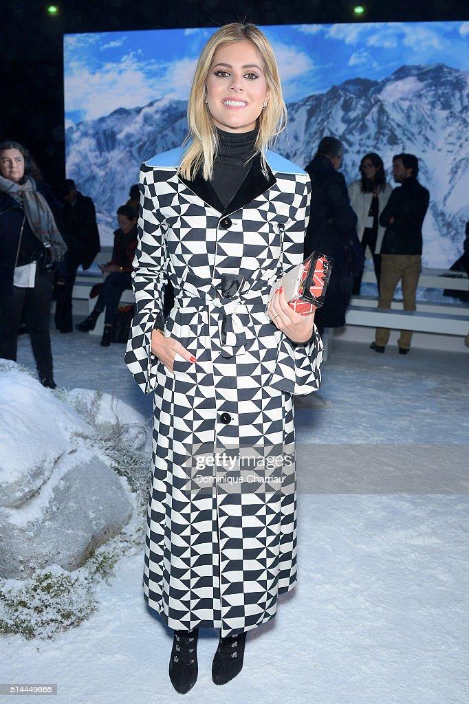 Moncler Gamme Rouge : Front Row- Paris Fashion Week Womenswear Fall/Winter 2016/2017