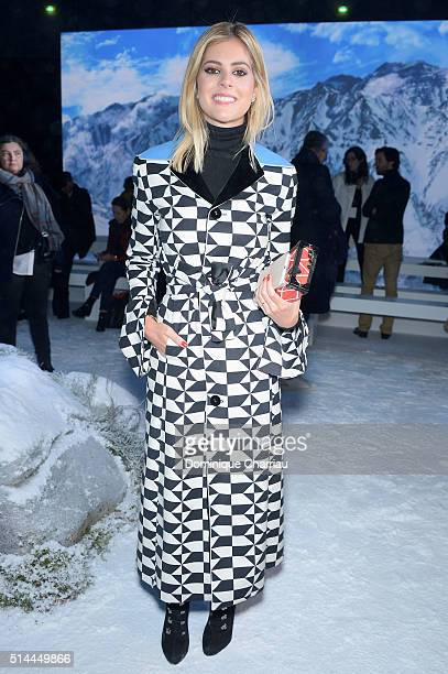 Lala Rudge attends the Moncler Gamme Rouge show as part of the Paris Fashion Week Womenswear Fall/Winter 2016/2017 on March 9 2016 in Paris France