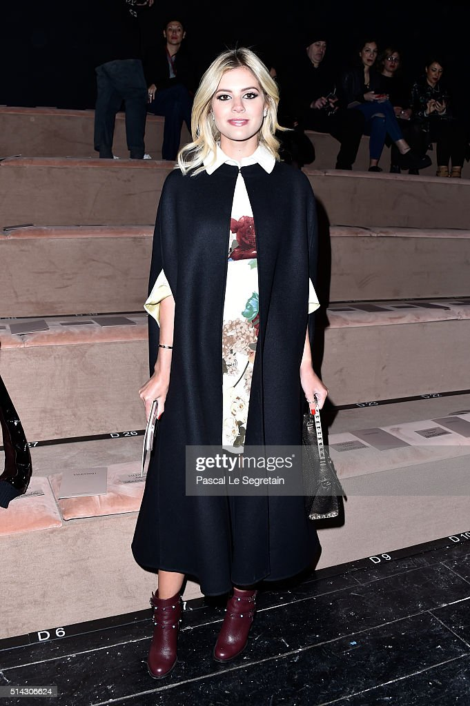 Valentino  : Front Row  - Paris Fashion Week Womenswear Fall/Winter 2016/2017