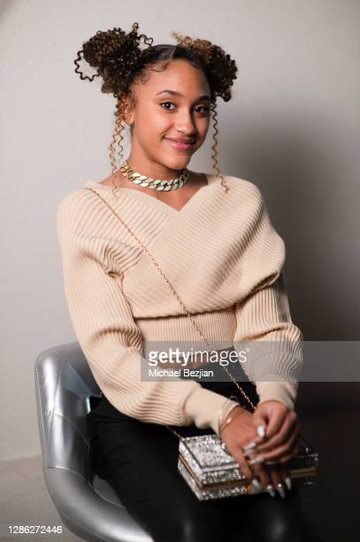 Lala Solit poses for portait at The Artists Project Hosts Portraits For The Premiere of Timecrafters on November 17 2020 in Los Angeles California