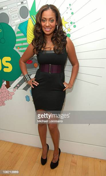 """LaLa Vasquez attends MTV's TRL """"Total Finale Live"""" at the MTV Studios in Times Square on November 16, 2008 in New York City."""