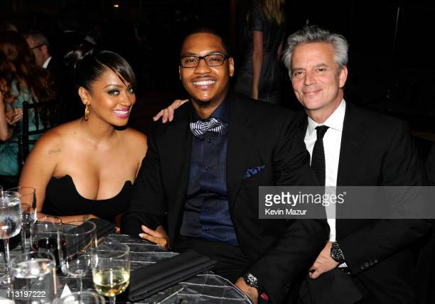 Lala Vazquez and Carmelo Anthony attend the TIME 100 Gala TIME'S 100 Most Influential People In The World at Frederick P Rose Hall Jazz at Lincoln...
