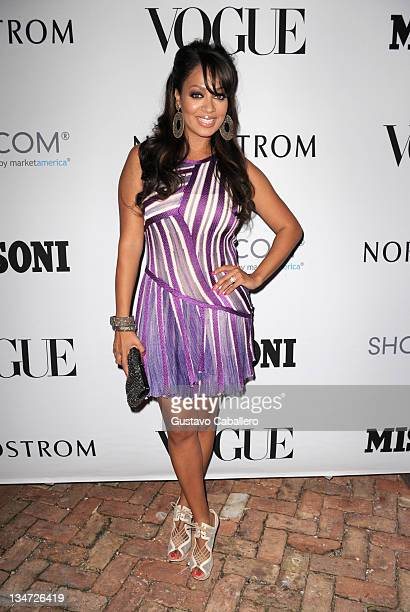 LaLa Vazquez attends Evenings in Vogue with Angela Missoni and Vittorio Missoni for exclusive summer 2012 preview presented by Nordstrom at Casa de...