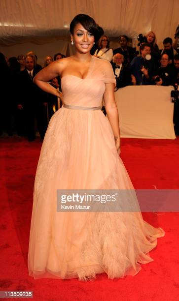 Lala Vazquez attends the Alexander McQueen Savage Beauty Costume Institute Gala at The Metropolitan Museum of Art on May 2 2011 in New York City