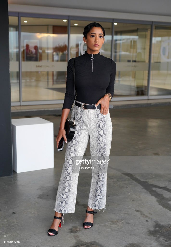 South Africa Fashion Week 2019 - Street Style : News Photo