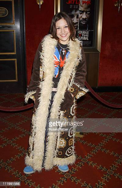 Lalaine of Lizzie Mcguire during World Premiere of Cradle 2 The Grave at Ziegfeld Theater in New York New York United States