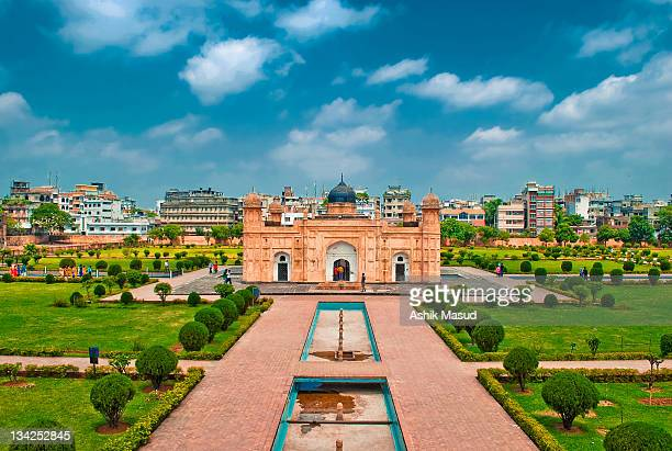 lalbag kella, lalbag fort, dhaka - fortress stock pictures, royalty-free photos & images