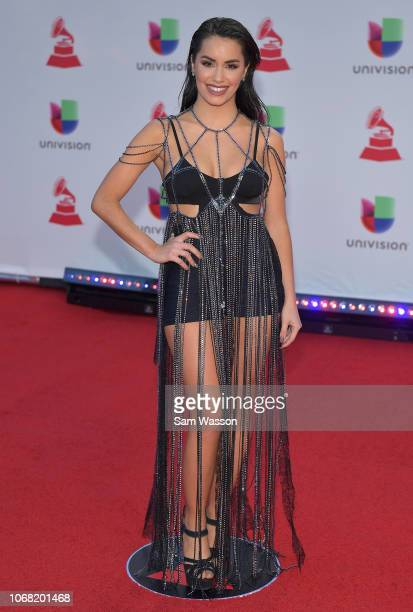 Lali attends the 19th annual Latin GRAMMY Awards at MGM Grand Garden Arena on November 15 2018 in Las Vegas Nevada