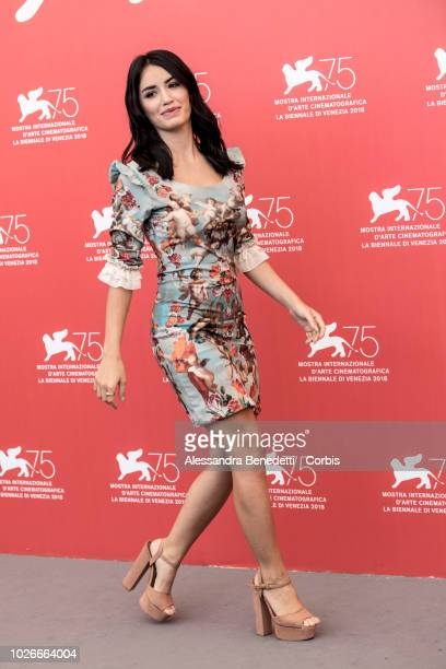 Lali Esposito attends 'Acusada ' photocall during the 75th Venice Film Festival at Sala Casino on September 4 2018 in Venice Italy