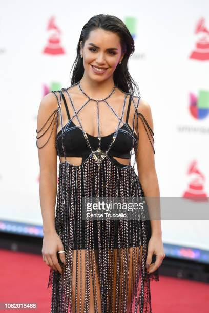 Lali Esposito attends the 19th annual Latin GRAMMY Awards at MGM Grand Garden Arena on November 15 2018 in Las Vegas Nevada