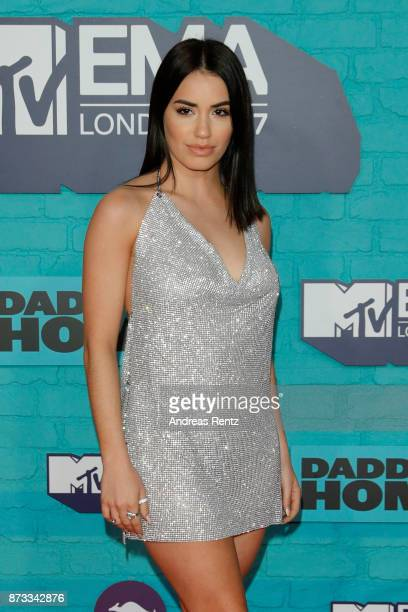 Lali Esposito attends the MTV EMAs 2017 held at The SSE Arena Wembley on November 12 2017 in London England
