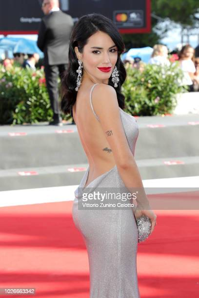 Lali Esposito walks the red carpet ahead of the 'Acusada ' screening during the 75th Venice Film Festival at Sala Grande on September 4 2018 in...