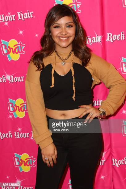 Lali Neuarez at Rock Your Hair Presents Rock Back to School Concert Party on September 30 2017 in Los Angeles California