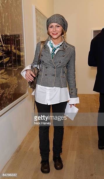 Lali Whisper attends Tierney Gearon Reception at Phillips de Pury on January 14 2009 in London