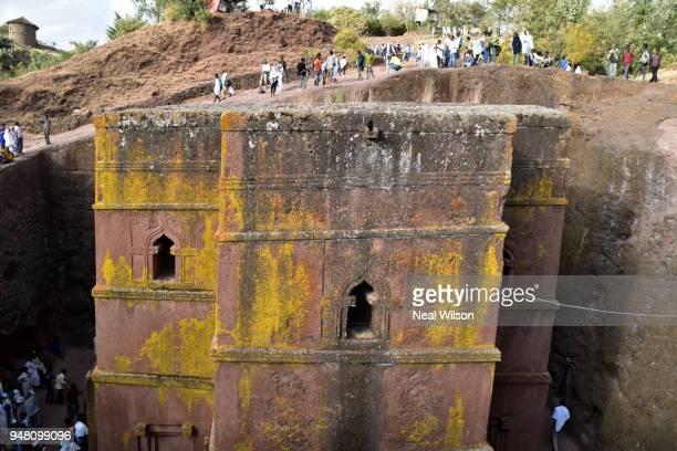 lalibela, ethiopia - christentum stock-fotos und bilder