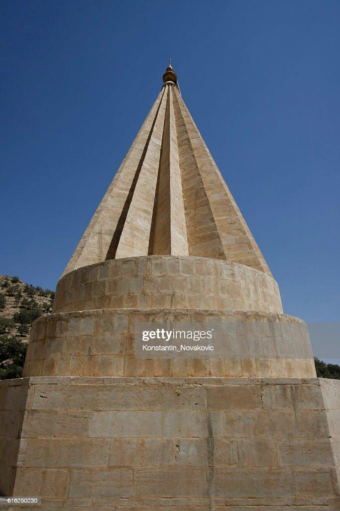 Lalish temple dome : Foto de stock