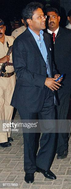 Lalit Modi at the IPL opening party in Mumbai on March 11 2010
