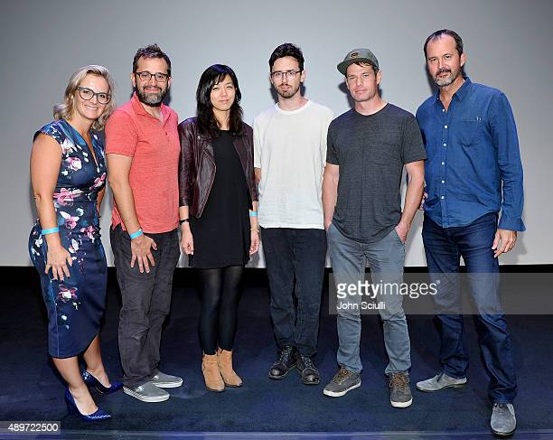 Lalita Koehler executive director of Intergrated Production Saatchi Saatchi LA Directors Eric Kissack Elizabeth Lo Alex Takacs Ben Knight and Chris...