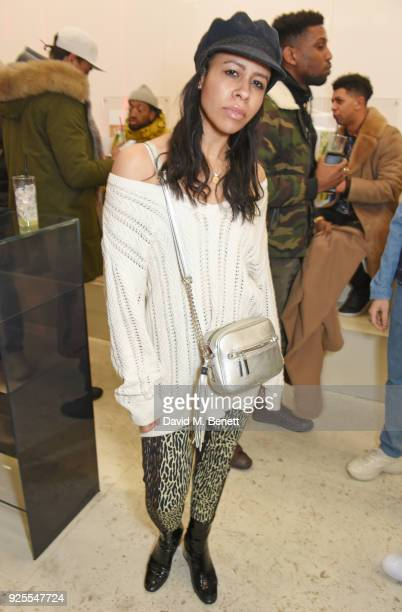 Lalla Bronshtein attends the What We Wear x Axel Arigato pop up shop launch party on February 28 2018 in London England