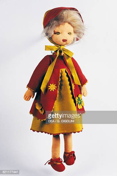 Lalla felt doll made by Lenci height 70 cm Italy 20th century Italy