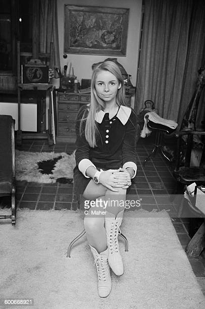 Lalla Ward the daughter of Edward Ward 7th Viscount Bangor UK 26th October 1967 She later became an actress and married 'Doctor Who' costar Tom Baker...