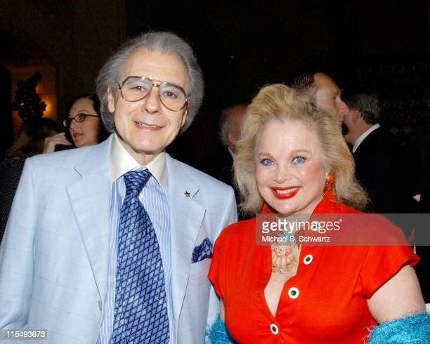 Lalo Schifrin and Carol Connors during The 20th Annual Charlie Awards at The Hollywood Roosevelt Hotel in Hollywood California United States
