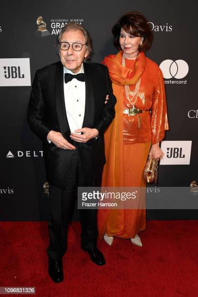 Lalo Schifrin and Donna Schifrin attend the PreGRAMMY Gala and GRAMMY Salute to Industry Icons Honoring Clarence Avant at The Beverly Hilton Hotel on...