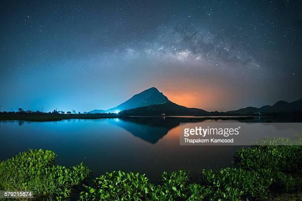 Lam I-su Reservoir, Kanchanaburi, Thailand.